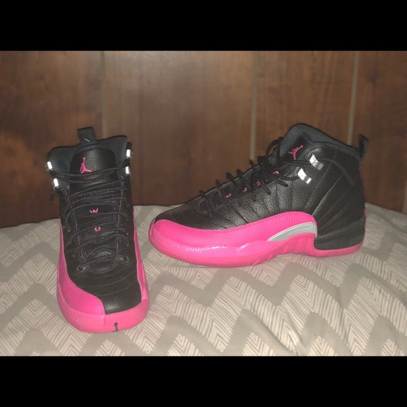 6b389a3ba329 Jordan Other - Air Jordan 12 GS Deadly Pink